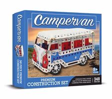 Campervan Construction Set 348 PIECE HAYNES STAINLESS STEEL SYSTEM Meccano Like