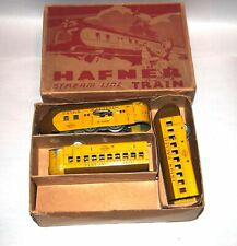 Hafner Prewar O Gauge Clockwork M10000 Union Pacific Streamliner & Box! PA