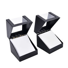 wrist watch box 78*78mm plastic earring display storage holder jewelry case FG
