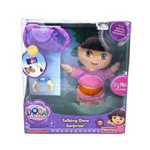 Fisher Price Talking Dora Surprise Doll Mattel Nick Jr The Explorer New RARE NIB