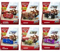 DISNEY PIXAR CARS WHEEL ACTION DRIVER CHOICE OF 6 DIFFERENT CARS - NEW BOX