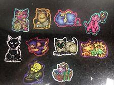 Vintage Vtg Prism Vending Machine Sticker Rare Collection Cei Cats Kittens Lot