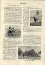 1898 Ejército británico en Birmania Elefante peón muda de casa