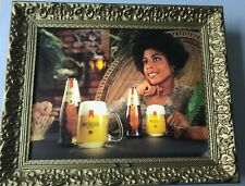 Vintage Michelob Beer Lighted Sign Black Americana Advertising Anheuser Busch