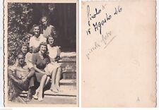 # SIROLO: 15 AGOSTO 1946 - PICCOLA FOTO PRIVATA