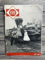 Vintage Erie Railroad Magazine Centennial Issue May 1951