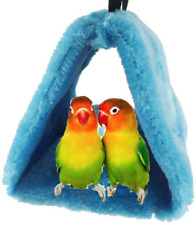 Bird Nest House Hut Hammock, Cage Toy for Parrot Budgies Parakeet Cockatie