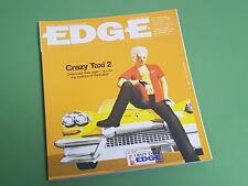 Edge Magazine-Numéro 96-Avril 2001 * Crazy Taxi 2 COVER *