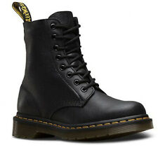Dr.Martens -1460 Pascal Virginia - Black Leather Boots - 13512006