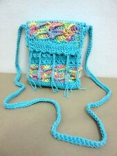 ND 01 CROCHET KNIT SHOULDER BAG S HANDICRAFT WEAVE CROSSBODY HOBO SLING HANDMADE