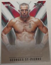 Georges St-Pierre UFC 2017 Topps Chrome Fire Insert Card #UF-GS GSP 217 167 158
