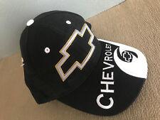 BNWT Official GM Chevrolet Logo Black/White Trucker Style Adult Size Peak Cap