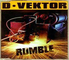 D-Vektor - Rumble - CDM - 1998 - Italodance Techno Hard House Panic Records 4TR