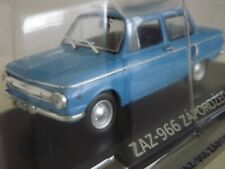 New model - ZAZ 966 Zaporozhets Saloon - IXO IST 1:43 - Blue Russian Soviet