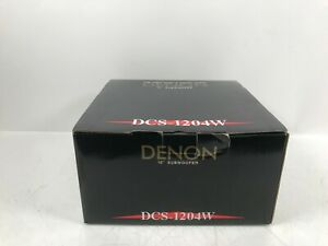 """New Old Stock NOS Denon DCS-1204W 12"""" Subwoofer"""