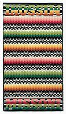 "MISSONI 'Niles' Zig-Zag Luxury Designer Beach Towel 71"" x 40"" Made in Italy NWT!"