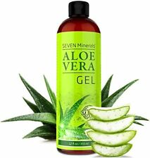 Gel De Aloe Vera Orgánico Natural Rápida Absorción Sin Residuos Pegajosos