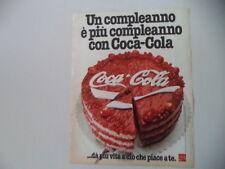 advertising Pubblicità 1979 COCACOLA COCA COLA
