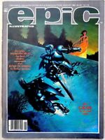 EPIC ILLUSTRATED #13 Aug 1982 Rick Veitch BLADE RUNNER Weirdworld  VF/NM 9,0