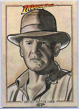 Indiana Jones Sketch Card by Sean Pence
