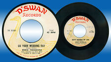 Philippines EDDIE PEREGRINA On Your Wedding Day OPM 45 rpm Record