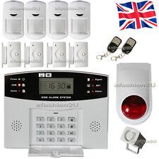 Sicurezza wireless GSM Autodial CASA HOME ANTIFURTO INTRUDER allarme incendio