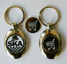 Ska Pork Pie Hat Trolley Token, Trolley Coin Keyring,Top Quality,Brand New