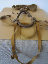 VINTAGE EQUESTRIAN TACK, HARNESS, BRIDLE, BIT AND REINS