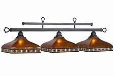 Pool Billiard Table Light Tahoe Amber Mica Shades TAH-B56 w/ FREE Shipping