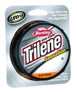 Berkley Trilene Sensation Mono Line 6lb 330yd Filler Spool Blaze Or SNFSN6-80