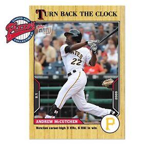 Andrew McCutchen - 2021 MLB TOPPS NOW Turn Back The Clock - Card 123 Presale