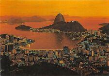 BG20988 amanhecer baia de guanabara com pao de acucar  rio de janeiro brasil