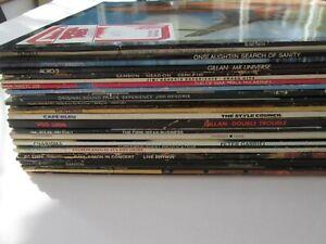 BLIND FAITH, DIRE STRAITS, HENDRIX~GENESIS, YES, ALICE COOPER LP JOBLOT, ROCK 27