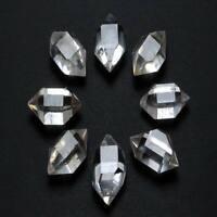 11g /8pcs Top Quality Natural Herkimer Diamond Quartz Crystal Healing x0627