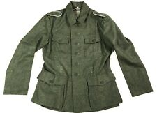 WWII GERMAN HEER ARMY M1942 M42 WOOL COMBAT FIELD TUNIC- XLARGE 46R