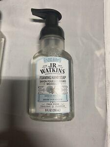 J.R. Watkins Foaming Hand Soap 9oz Ocean Breeze