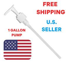 1 Gallon Pump Dispenser, 38/400 Fit Standard 128oz Gallon USA Seller NEW