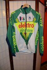 Elektro zurichsee Giordana  vintage Winter cycling jersey L .ALY