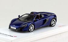 McLaren 650 s Spider Volcano Blue 2015 True Scale Miniatures 1 43 TSM144358 Mode