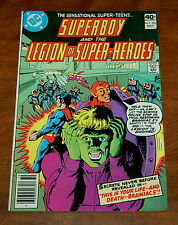 Superboy and the Legion of Super-Heroes 256 October 1979 DC Giordano VG+