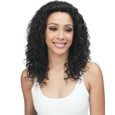 BOBBI BOSS 100% HUMAN VIRGIN REMY HAIR LACE FRONT CURLY WIG - MHLF410 EMORY