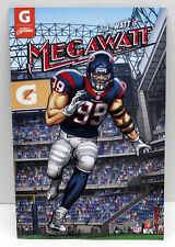 JJ WATT MEGAWATT COMIC BOOK # 2 ISSUE GATORADE ENTERAINMENT HOUSTON TEXANS