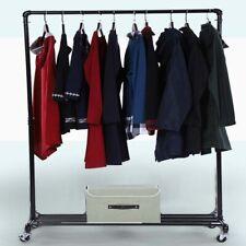 e96fe822df Garment Clothes Rail Display Rack Coat Holder Free Standing & Lower Shoes  Shelf