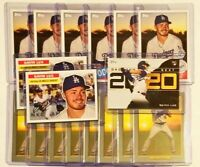 2020 Gavin Lux Topps Insert RC *Lot of 17* Turkey Red 1956 35th Dodgers Rookie