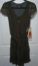 New Women's Boss Hugo Boss AMELIA Orange Label Silk Layered Dress  4  ( $650 )