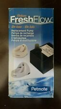 Petmate Fresh Flow Deluxe Replacement Pump 120V - Easy Install - AC Adapter