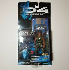 "iD4 Independence Day NIB Captain Steven Hiller 5.75"" Figure w/ Accessories Cool!"