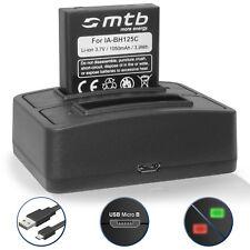 Dual Ladegerät (USB) + Akku DB-60 für Ricoh GR Digital I, II, III, IV