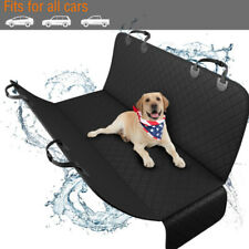 "54"" x 58"" Waterproof Dog Pet Seat Hammock Cover Car Truck Back Rear Mat Blanket"