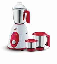 Bajaj Classic 750W Mixer Grinder with 3 Jars Maroon With CA universal Plug